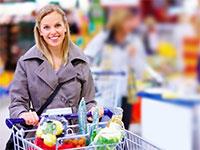 Покупки в гипермаркете